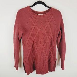 Stitch fix Leo & Nicole cable knit sweater xs